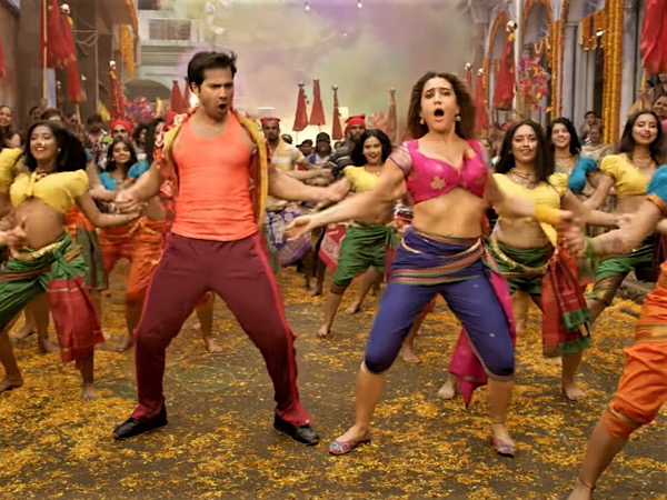 Varun Dhawan And Sara Ali Khan In Mummy Kassam Song