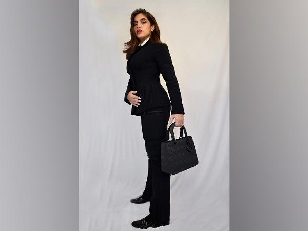 Bhumi Pednekar In Formal Black Suit