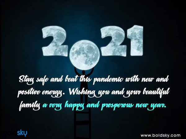New Year 2021 Greetings and Messages