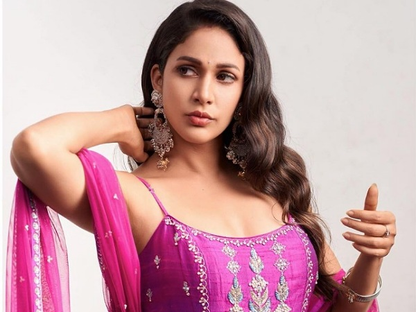 Lavanya Tripathi In Hot Pink Kurta Set