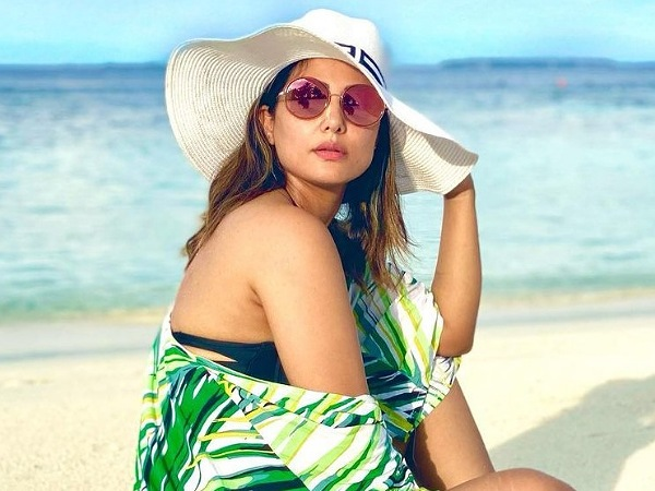 Hina Khan's Beach-Perfect Look