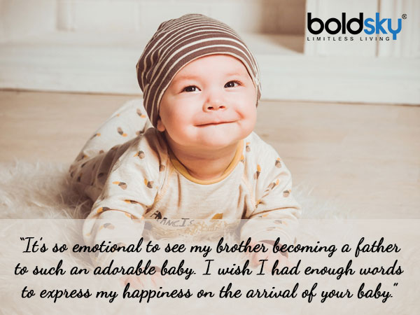 Quotes To Share On The Birth Of A Baby