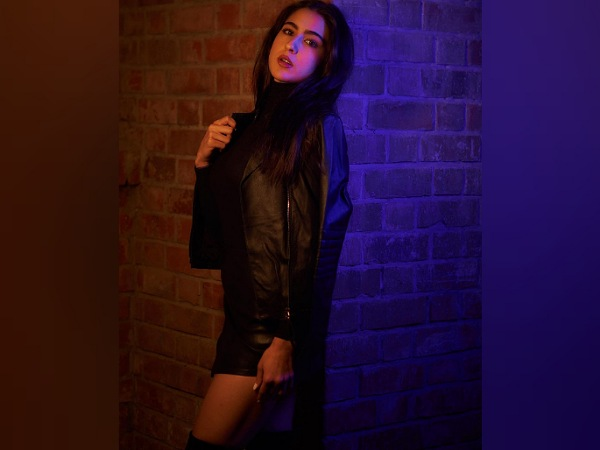 Sara Ali Khan Stuns In Leather Outfit