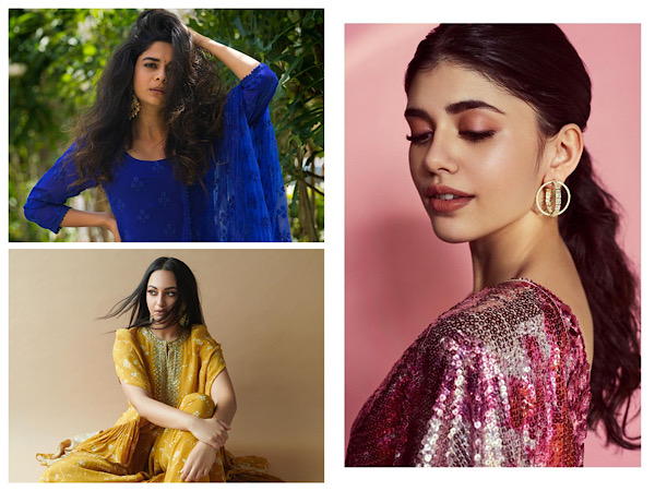 Sanjana Sanghi, Mithila Palkar, And Sonakshi Sinha Wow Us With Their Modern Ethnic Outfits
