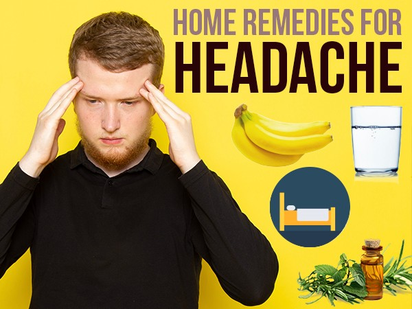 Ginger, Basil Tea, Clove Steaming And 31 Other Home Remedies For Headache