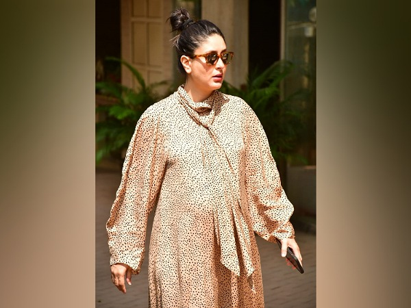 Kareena Kapoor Khan In A Beige Dress