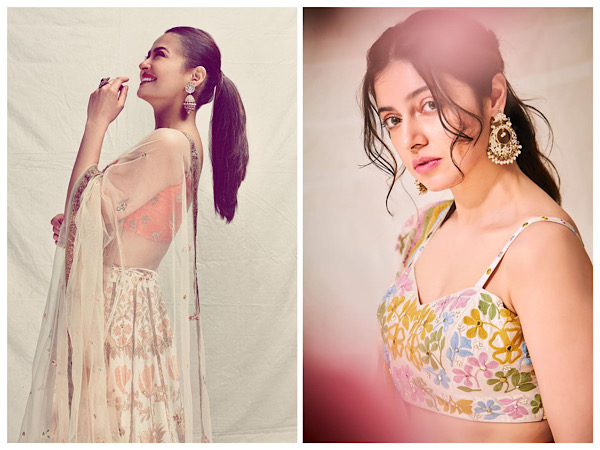 Surveen Chawla Or Divya Khosla Kumar, Whose Spring-perfect Floral Lehenga Would You Invest In?