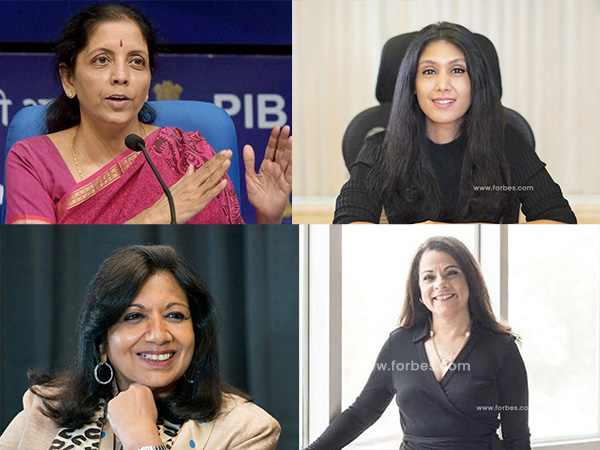 Indian Women Who Made It To Forbes List Of World's 100 Most Powerful Women 2020