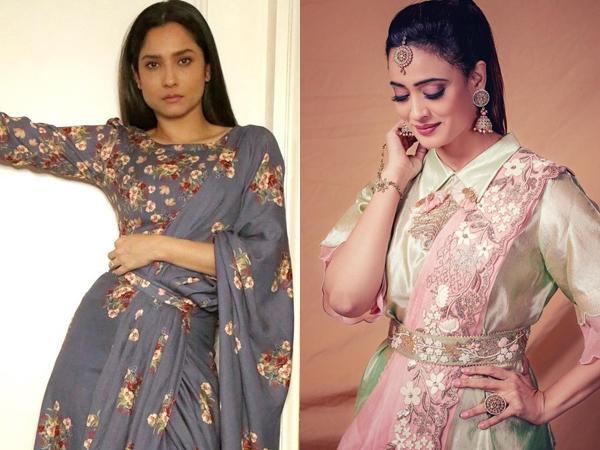 Ankita Lokhande And Shweta Tiwari's Dhoti Look