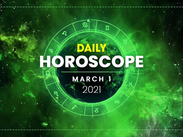 Daily Horoscope: 01 March 2021
