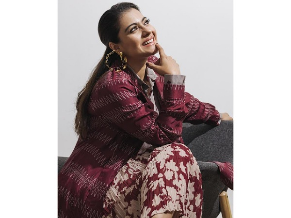 Kajol Ups Her Fashion Game With This Eye-catching Skirt Set For Tribhanga Promotions