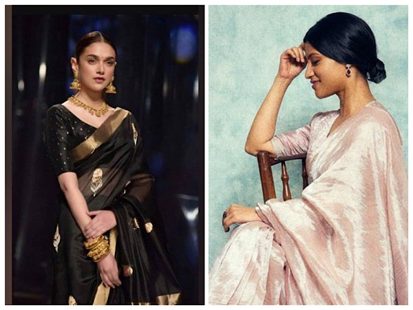 Aditi Rao Hydari And Sakshi Tanwar Give Us Saree Goals From Their Respective Upcoming Netflix Series