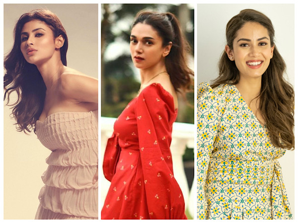'Tis The Season Of Cute Dresses, Proves Aditi Rao Hydari, Mouni Roy, And Mira Rajput Kapoor