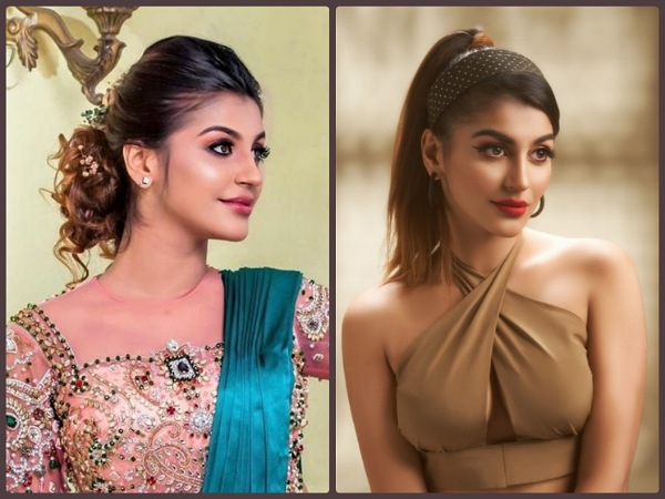 Your Party And Wedding Hairstyles Sorted Ft. Yashika Aannand; Check Out Her Pretty Looks!