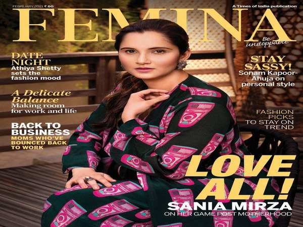 Sania Mirza Talks About Marriage, Motherhood And Matches In Latest Issue Of Femina