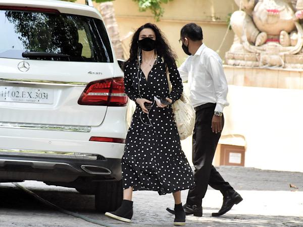 Preity Zinta In A Polka Dot Dress