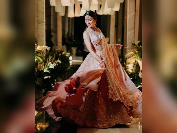 Shaadi Mein Zaroor Aana Actress Kriti Kharbanda In A Flowy Pastel Lehenga - Boldsky.com