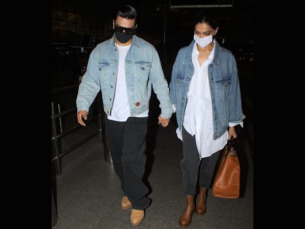 Deepika Padukone & Ranveer Singh's Look