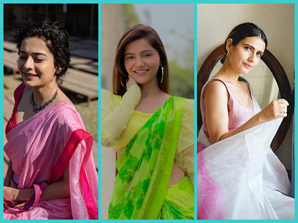 Your Stylish Summer Saree Looks Ft. Fatima Sana Shaikh, Rubina Dilaik, And Mithila Palkar