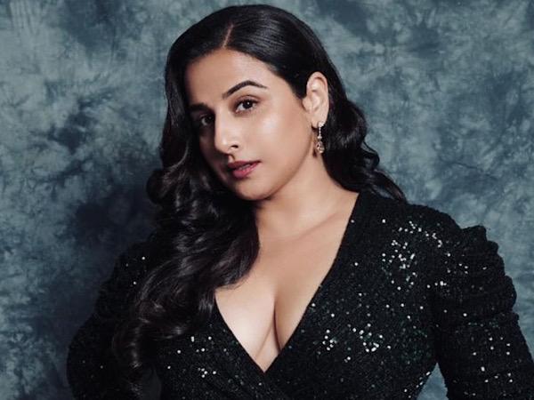 Vidya Balan Shows Off Her Glamorous Side In A Black Sequin Gown On Instagram - Boldsky.com