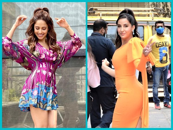 Nora Fatehi And Nushrat Bharucha's Stylish High Ponytails Are The Cutest Hairstyles To Rock With Mini Dresses