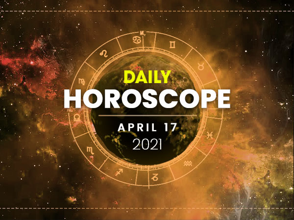 Daily Horoscope: 17 April 2021