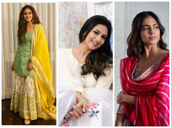 Ugadi And Baisakhi 2021: Spruce Up Your Festive Look With Celebs-Inspired Traditional Suits