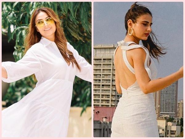 Your White Dress Edit Ft. Urvashi Dholakia And Fatima Sana Shaikh