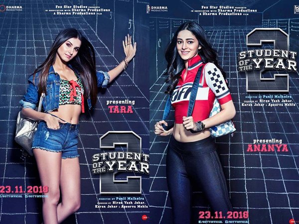 On 2 Years Of Student Of The Year 2, Fashion Lessons From Ananya Panday And Tara Sutaria From The Film