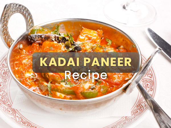 Kadai Paneer Recipe: Here's How To Prepare The Paneer Dish At Home