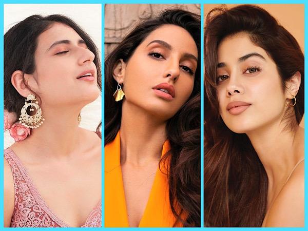 Eid ul-Fitr 2021: Janhvi Kapoor, Nora Fatehi, And Fatima Sana Shaikh Inspired Subtle Makeup Ideas For Festival