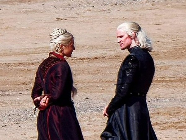 House Of The Dragon: First Look And Outfits Of The Characters Rhaenyra Targaryen And Daemon Targaryen