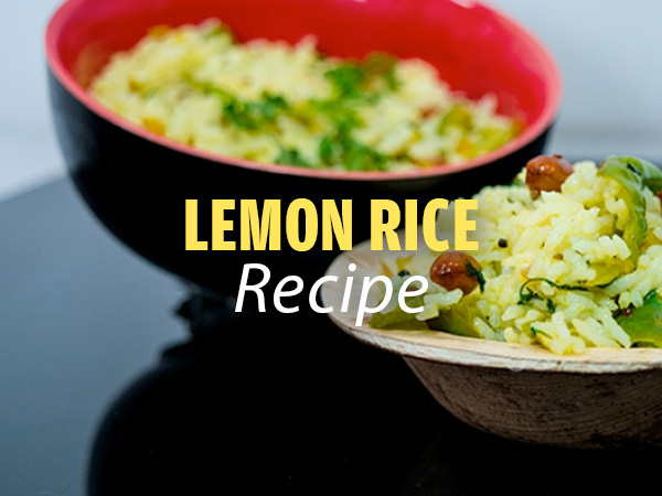 Lemon Rice Recipe: Here's How To Prepare It At Home