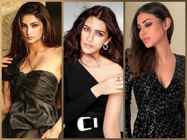 Mouni Roy, Kriti Sanon, And Palak Tiwari Beckon Us To Add Fresh Stunning Black Pieces To Our Wardrobe