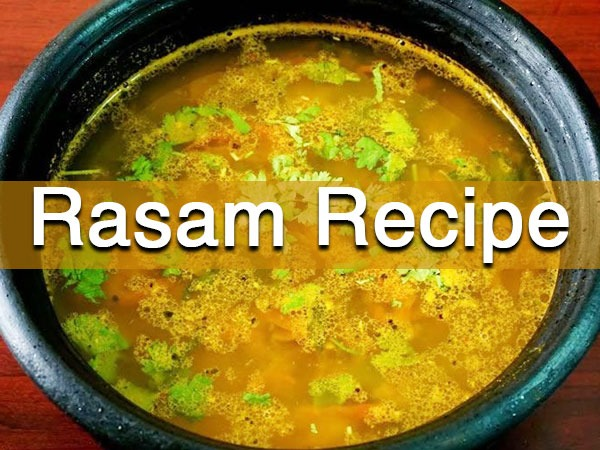 Rasam Recipe: Here's How You Can Prepare It At Home