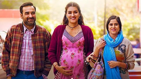 Kriti Sanon Flaunts Baby Bump In Fabulous Ethnic Maternity Wear In Mimi Posters