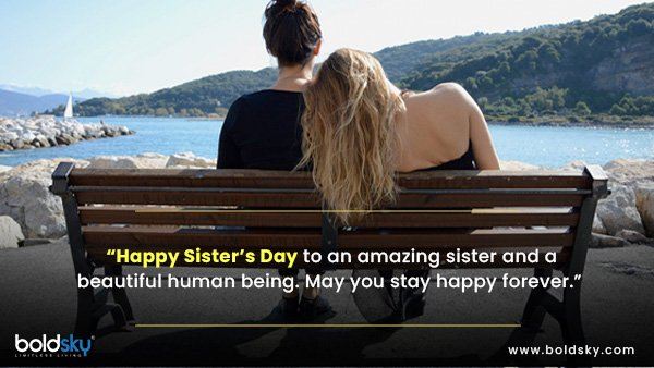 Quotes & Wishes On National Sister's Day