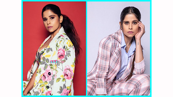 Floral Or Striped, Which Pantsuit Of Mimi Actress Sai Tamhankar Did You Like More?