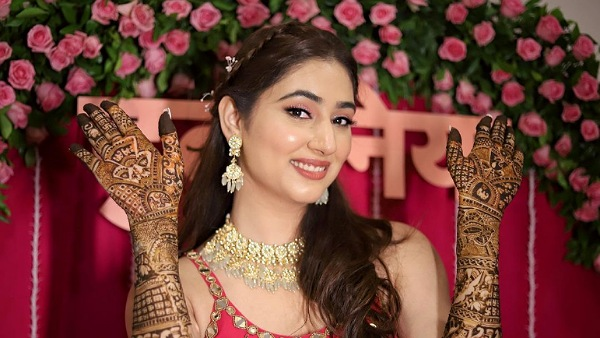 Rahul Vaidya-Disha Parmar Wedding: The Bride-To-Be's Mehendi Look Is All About Cute Hairstyle And Pink Makeup