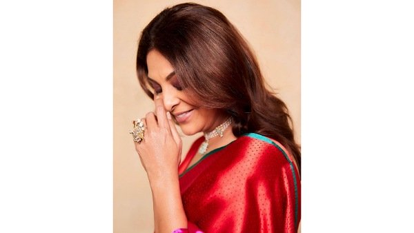 Human Promotions: Shefali Shah Looks Graceful In Her Multi-Hued Saree; Take A Look At Her Styling Game Too