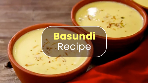 Basundi Recipe: Here's How You Can Prepare It At Home