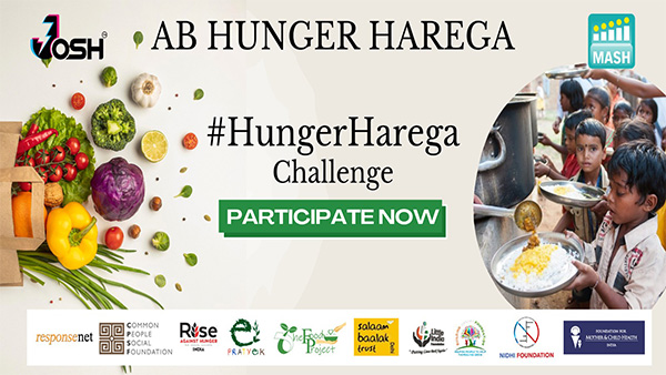 Leading Short Video App Josh And MASH Project Foundation Collaborate To Launch #HungerHarega Challenge