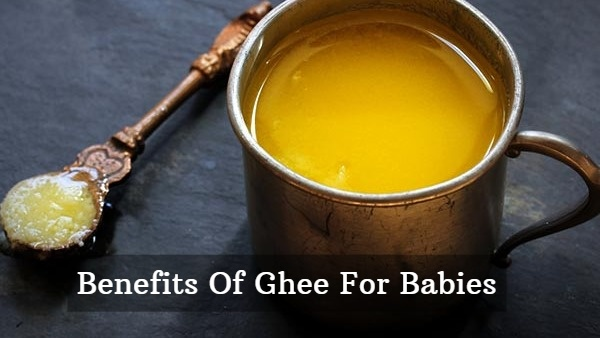 Benefits Of Ghee For Babies: Good For Digestion, Brain Development, Immunity And Many More