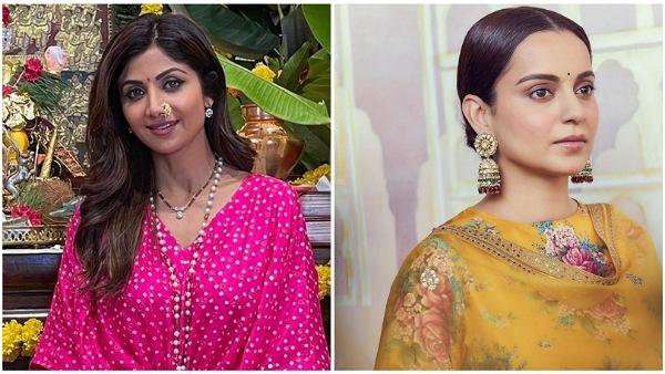 From Shilpa Shetty Kundra To Kangana Ranaut, The Divas Flaunt Traditional Suit Looks