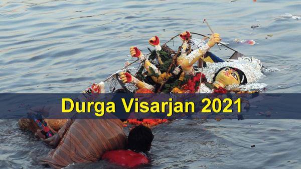 Durga Visarjan 2021: Date, Rituals, Significance And Celebrations