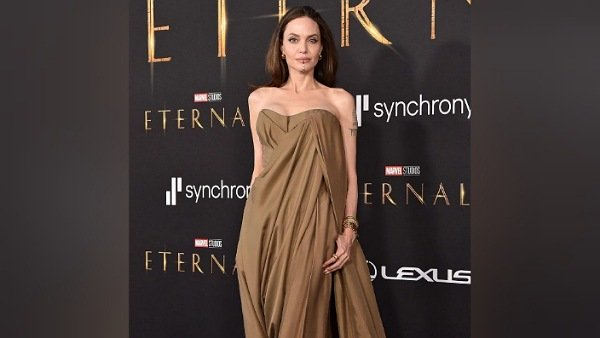 Angelina Jolie Exudes Casual Glamour With Her Brown Outfit; Daughters Take Notes From Mother's Wardrobe