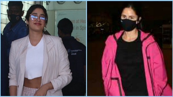 Airport Fashion: Janhvi Kapoor, Katrina Kaif, And Other Actresses Show Us How To Look Comfortably Chic