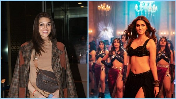 Kriti Sanon's Latest Fashion Lookbook Features A Traditional Net Lehenga And Smart Tan-Hued Airport Outfit