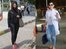Gauhar Khan's Grey and Shruti Haasan's Black Attire Are What We Need Right Now