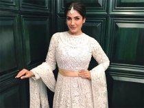 Wow! Raveena Tandon's White Lehenga Makes For A Perfect Sangeet Ensemble